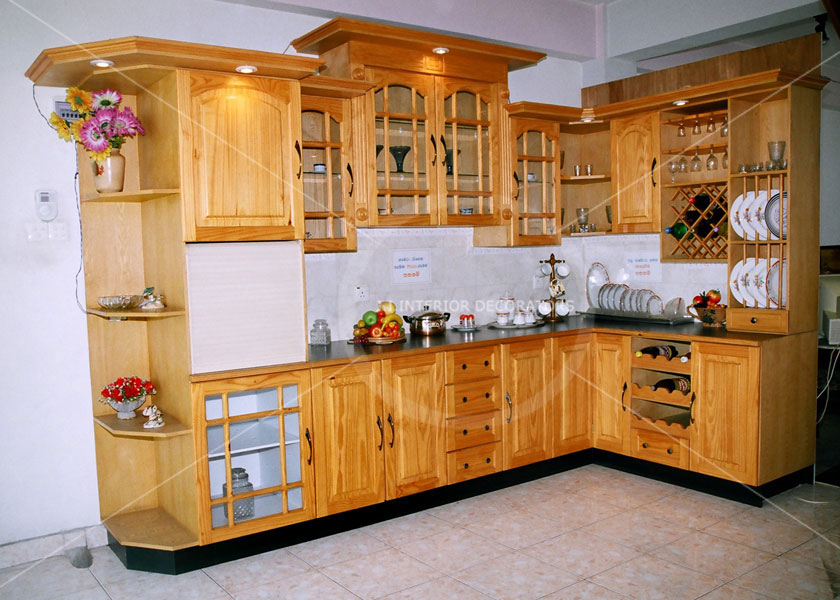 J i interior decorators gallery pantry cupboards bed for Bedroom furniture designs in sri lanka